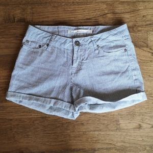 Brody Jeans Striped Short Shorts 26